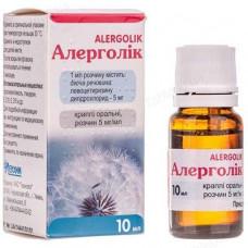 Allergolic 5mg / ml 10ml oral solution drops