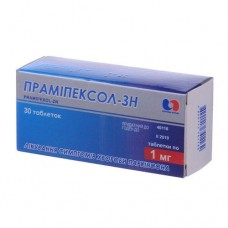 Pramipexole Health of the People 1 mg tablets, 30 pcs.