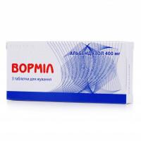 Vormil tablets 400 mg No. 3
