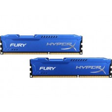 Kingston DDR3-1866 16384MB PC3-14900 (Kit of 2x8192) HyperX FURY Blue (HX318C10FK2/16)