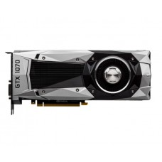 MSI PCI-Ex GeForce GTX 1070 Founders Edition 8GB GDDR5 (256bit) (1506/8008) (DVI, HDMI, 3 x DisplayPort) (GTX 1070 Founders Edition)