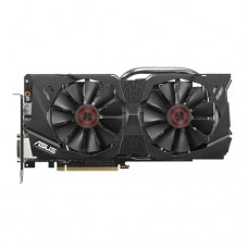 Asus PCI-Ex GeForce GTX 970 Strix 4GB GDDR5 (256bit) (1114/7010) (2 х DVI, HDMI, DisplayPort) (STRIX-GTX970-DC2OC-4GD5)