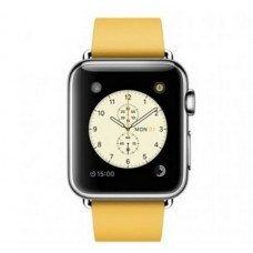 Apple Watch 38mm Stainless Steel Case with Marigold Modern Buckle Medium (MMFF2KR/A)