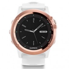Garmin Fenix 3 Sapphire Rose Gold tone with White Band (010-01338-51)
