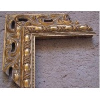 Wooden carved Frames for registration frames (gold). Frames for mirrors and paintings.