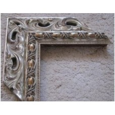 Wooden carved Frames for registration frames (silver). Frames for mirrors and paintings