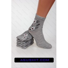 Quality women's socks CN-001-18. The package 12 pairs