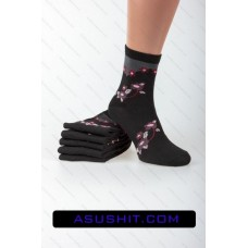 Women's socks at low cost CN-001-19. The package 12 pairs