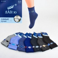 Baby terry socks Lanyu 8336 8-12. The package 12 pairs