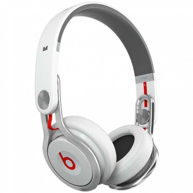 Beats Mixr High-Performance Professional Headphones White (848447005543)