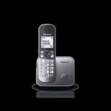 DECT Panasonic KX-TG6811UAM Metallic phone
