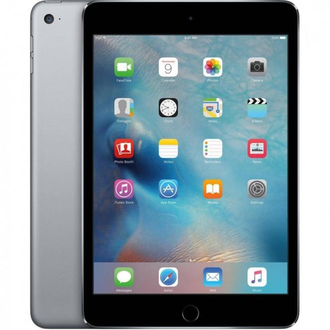 Space Gray iPad mini 4 4G 128GB Apple