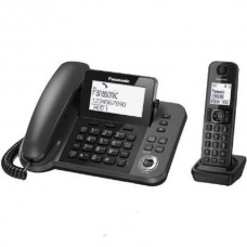 DECT Panasonic KX-TGF320UCM Black phone