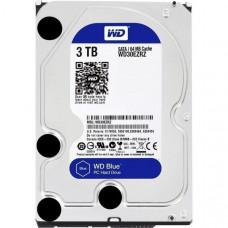 Hard drive internal WD 3TB 5400rpm 64Mb 3.5 SATA III Blue (WD30EZRZ)