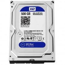 Hard drive internal WD 0.5TB 5400rpm 64MB 3.5 SATA III Blue (WD5000AZRZ)