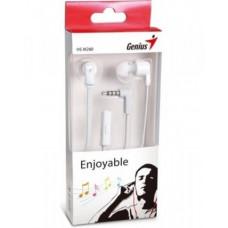 Genius HS-M260 Mic White earphones