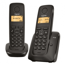 Gigaset A120 DUO Black DECT phone