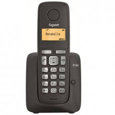 Gigaset A120 Black DECT phone