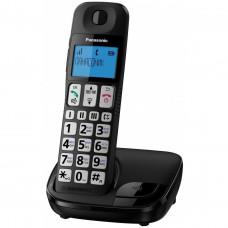 DECT Panasonic KX-TGE110UCB Black phone