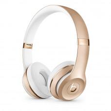 Bluetooth Beats Solo3 Wireless Gold earphones (MNER2ZM/A)