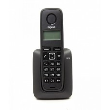 Gigaset A116 Black DECT phone