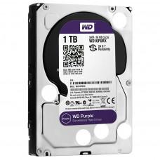 Hard drive internal WDC HDD SATA 1TB 6GB/S 64MB/PURPLE (WD10PURZ)