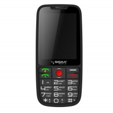 Sigma Comfort 50 Elegance Black mobile phone