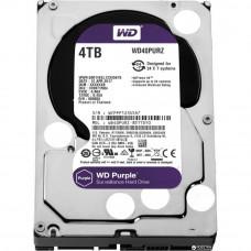 Hard drive internal WDC HDD SATA 4TB 6GB/S 64MB/PURPLE (WD40PURZ)