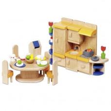 Set for goki dolls Furniture for kitchen (51747G)