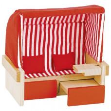 Set for goki dolls the Beach chair (51659G)