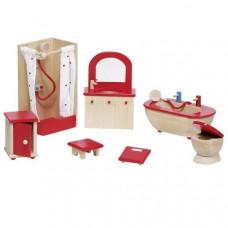 Set for goki dolls bathroom Furniture (51959G)