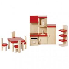 Set for goki dolls Furniture for kitchen (51718G)