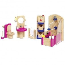 Set for goki dolls bathroom Furniture (51748G)