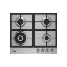 Cooking surface gas Beko HIAW64225SX