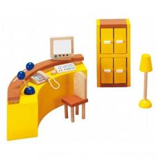 Set for goki dolls Furniture for office Resepshin (51696G)