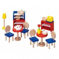 Set for goki dolls Furniture for bistro (51690G)