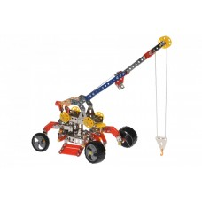 Designer metal Same Toy Inteligent DIY Model Crane 413 of an element (WC58AUt)