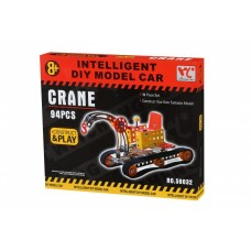 Designer metal Same Toy Inteligent DIY Model Car Crane 94 elements (58032Ut)