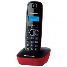 DECT Panasonic KX-TG1611UAR Black Red phone