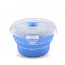 Transforming container for food of Nuvita of 6 m + 230 ml. Blue (NV4466Blue)