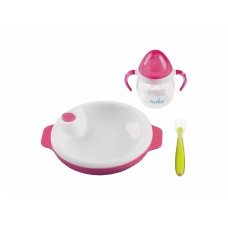 Set for feeding of Nuvita of 6 m + Pink 3 objects. (NV1491Pink)