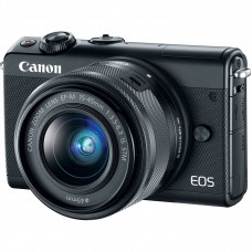 CANON EOS M100 camera + 15-45mm IS STM Black (2209C048)