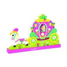 Designer magnetic Janod Princess (J08026)