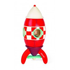 Designer magnetic Janod Rocket of 32 cm (J05212)
