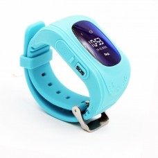 Children's watch phones with the GPS GOGPS ME K50 tracker turquoise (K50TR)