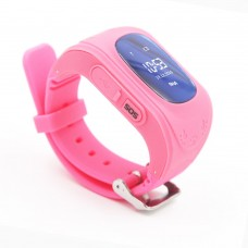 Children's watch phones with the GPS GOGPS ME K50 tracker pink (K50PK)