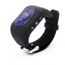 Children's watch phones with the GPS GOGPS ME K50 tracker black (K50BK)