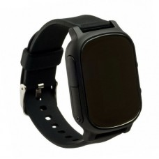 Children's watch phones with the GPS GOGPS ME K20 tracker black (K20BK)