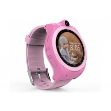 Children's watch phones with the GPS GOGPS ME K19 tracker pink (K19PK)