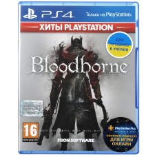 Game Bloodborne (PS4, Russian subtitles)